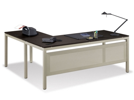 "At Work Executive L-Desk - 72"" x 78"", 13283"