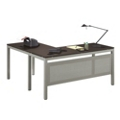 "At Work 60""W x 60""D Reversible Compact L-Desk, 13281"