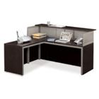 At Work Reception L-Desk with Left Return, 75937