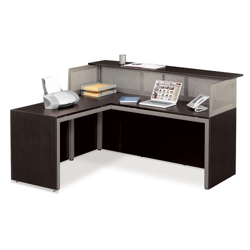 At Work Reception L-Desk with Left Return, 75937