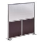 "At Work 49"" W x 53"" H Room Divider, 21234"