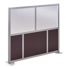 "At Work 61"" W x 53"" H Room Divider, 21235"