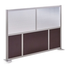 "At Work 73"" W x 53"" H Room Divider, 21236"