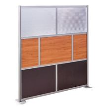 "At Work 72"" W x 78"" H Room Divider, 21237"