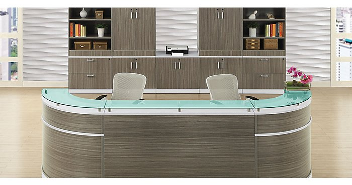 The Esquire Desk in Driftwood: A New Color for an Old Favorite | NBF Blog