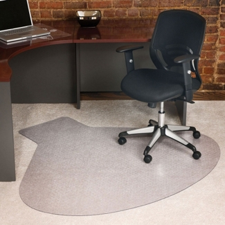"66"" x 60"" Corner Chair Mat, 54956"