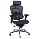 High Back Mesh Chair with Headrest, CD01777