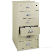 Six-Drawer Fireproof Card and Check File, 31630