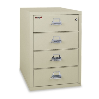 4-Drawer Fireproof Card and Check File, 31631