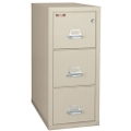 """Three Drawer Fireproof Letter Size Vertical File - 31""""D, 34141"""