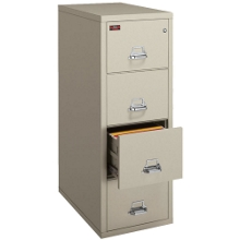 Two-Hour Rated Fireproof Four Drawer Vertical Legal File, 34304