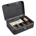 Lockable Six Compartment Cash Box, 36380