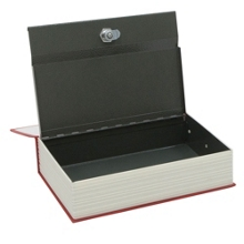 Disguised Book Safe with Key Lock, 36394