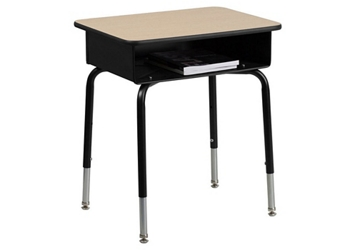 Student Desk with Open Book Box, 10313