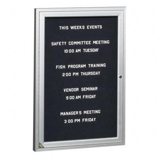 "Indoor Directory Board 24""W x 36""H, 80227"