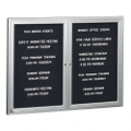 "Indoor Directory Board 60""x36"", 80229"