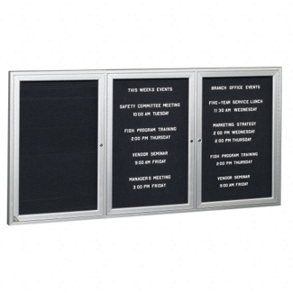 "Indoor Directory Board 72""W x 36""H, 80230"