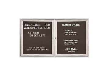 """Outdoor Directory Board 48""""wx36""""h, 80817"""