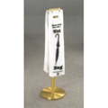 Satin Brass Umbrella Bag Holder, 87164