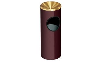 Funnel Cover Ash/Trash Receptacle - 3 Gallon Capacity, 90356