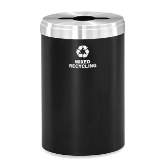 41 Gallon Mixed Recycling Container, 91987