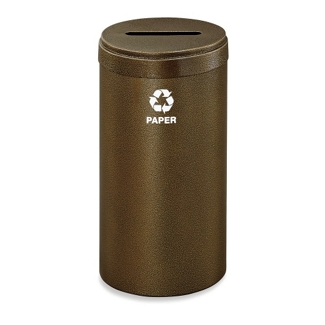 15 Gallon Paper Recycling Container, 91989