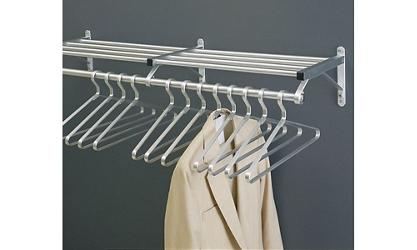 """Coat Rack with Shelf 48"""" Wide, 92115"""
