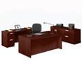 Contemporary Four Piece Executive Office Suite, 86042