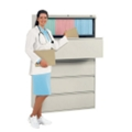 """42"""" Wide Four-Drawer Lateral File, 30365"""