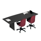 10' Boat-Shaped Conference Table, 40494-1