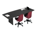 8' Boat-Shaped Conference Table, 40493-1