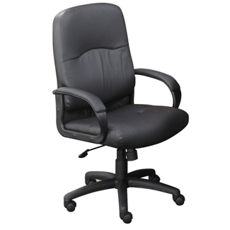 Lucia Bonded Leather Conference Chair, 50540
