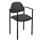 Fabric Guest Chair with Arms, CD05641