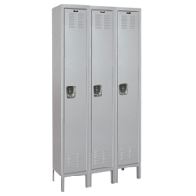 "36""W x 18""D x 78""H Antimicrobial 3 Person Locker, 31002"