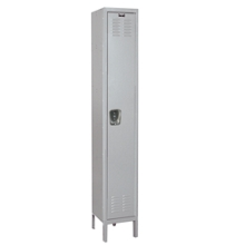 "12""W x 18""D x 78""H Antimicrobial 1 Tier Locker, 31003"