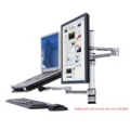 Monitor Mount with Laptop Holder, 85916