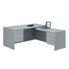 Workstation L-Desk with Right Return, 10427