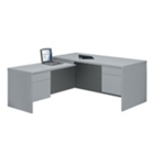 Workstation L-Desk with Left Return, 10428