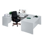 Executive U-Desk with Left Bridge, 10783