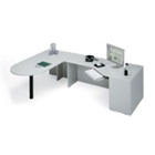 Conference L-Desk with Right Corner, 10786