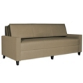 Harmony Convertible Sofa into Full Size Day Bed in Vinyl, 25334
