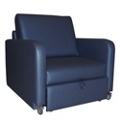 Harmony Sleeper Chair in Vinyl, 25336