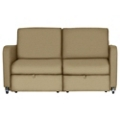 Harmony Tandem Sleeper Loveseat in Vinyl, 25337