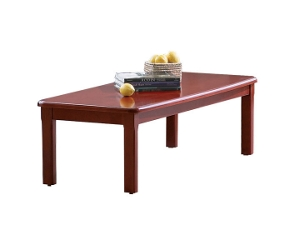 Coffee Table with Wood Veneer Top, 53752