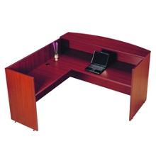 Reception L-Desk with Left Return, 76012