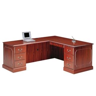 L-Desk with Left Return, 15924