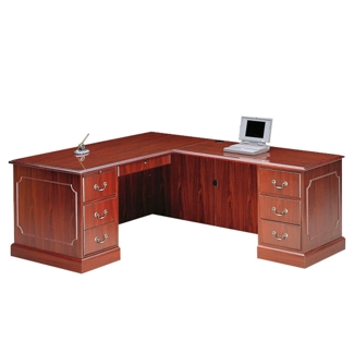 L-Desk with Right Return, 15925