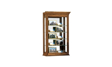 "Display Case 20'' Wide x 33"" High with Mirror Back, 31340"