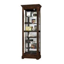 Display Cabinet with Mirrored Back, 31677