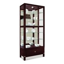 Williamson Display Cabinet with Built-In Lighting, 36346